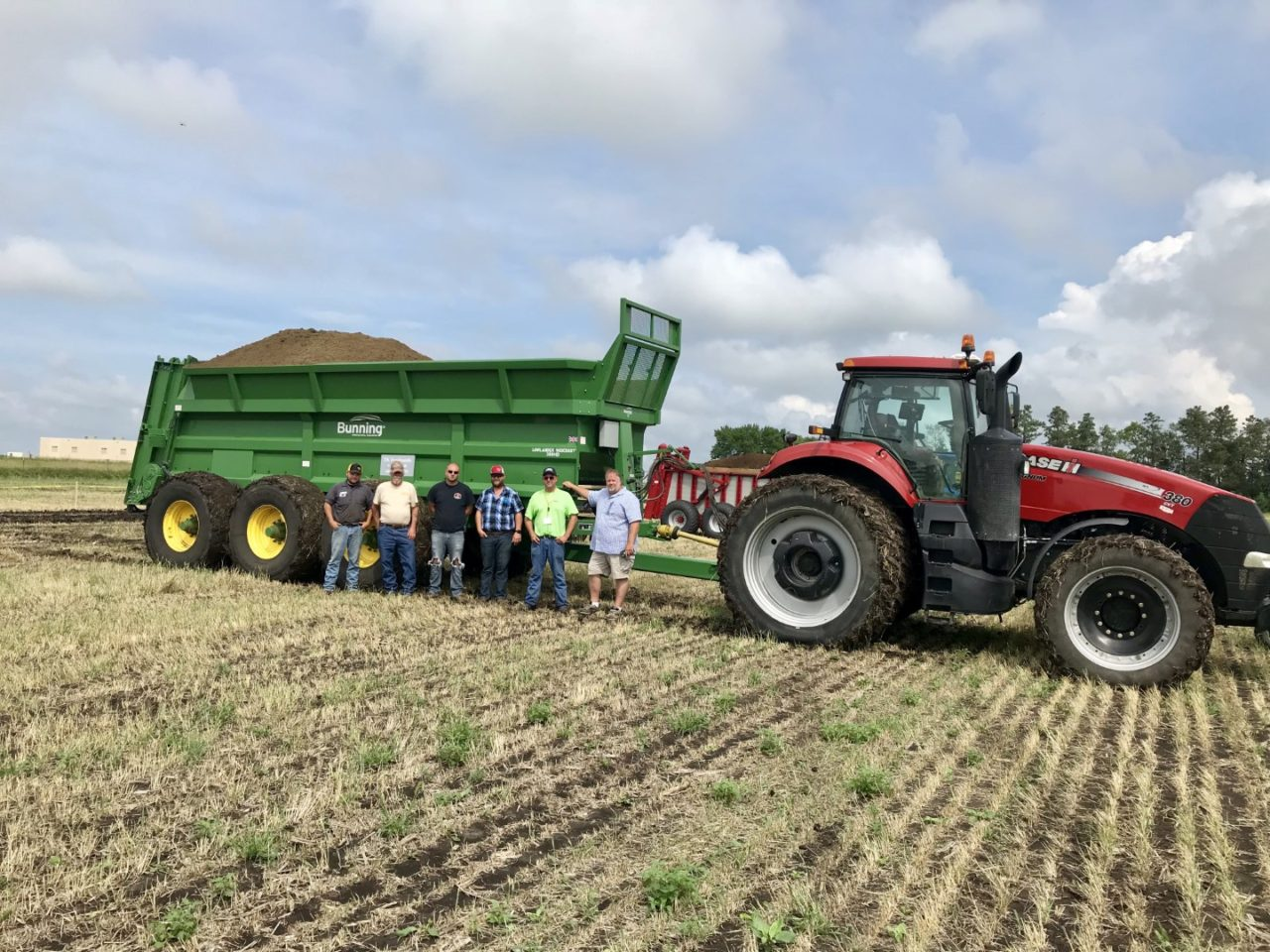 Bunnings Spreaders at North American Manure Expo