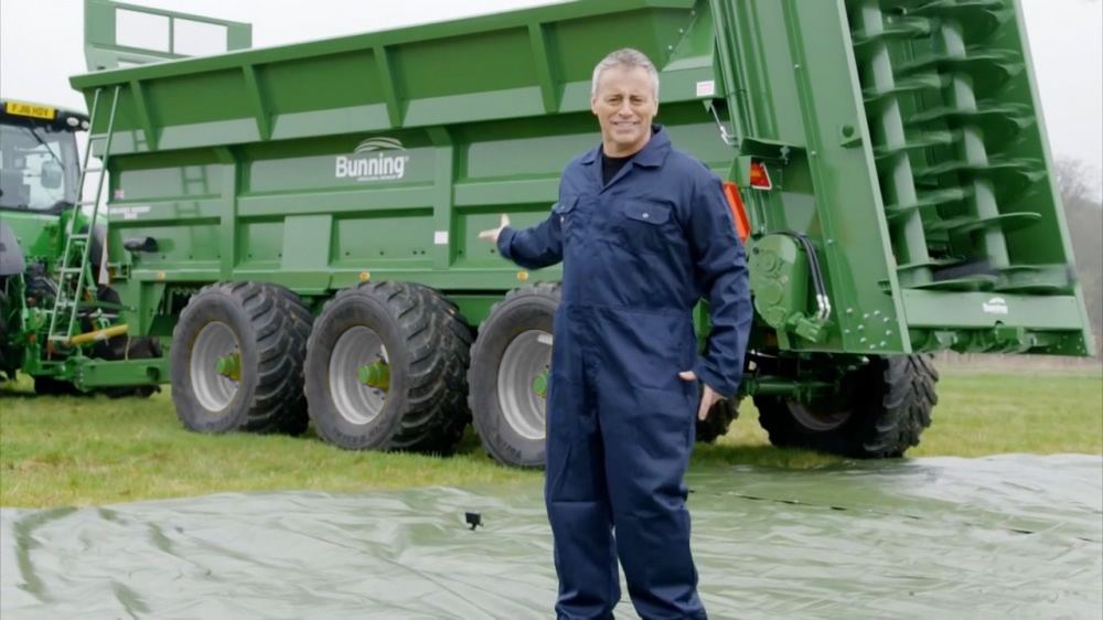 Top Gear car vs manure spreader