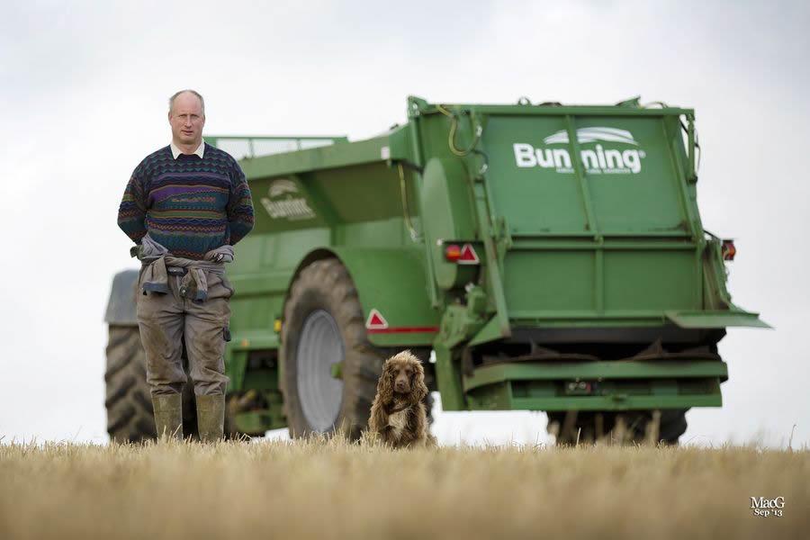 Bunning solid manure spreader
